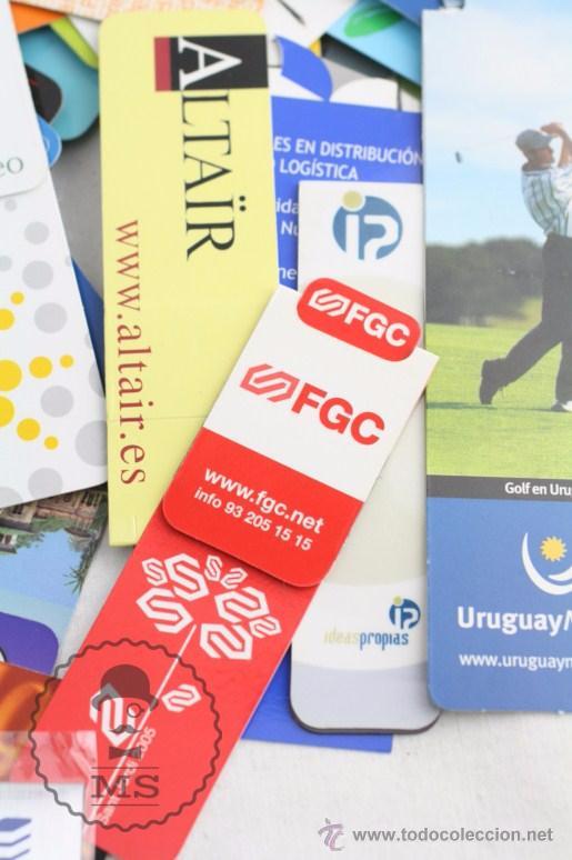 Coleccionismo Marcapáginas: Conjunto de 100 Marcapáginas / Puntos de Libro Imantados / Imanes - Publicidad,Catalunya, Sant Jordi - Foto 5 - 51435006