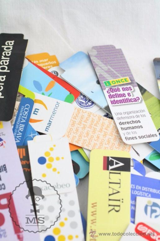 Coleccionismo Marcapáginas: Conjunto de 100 Marcapáginas / Puntos de Libro Imantados / Imanes - Publicidad,Catalunya, Sant Jordi - Foto 6 - 51435006