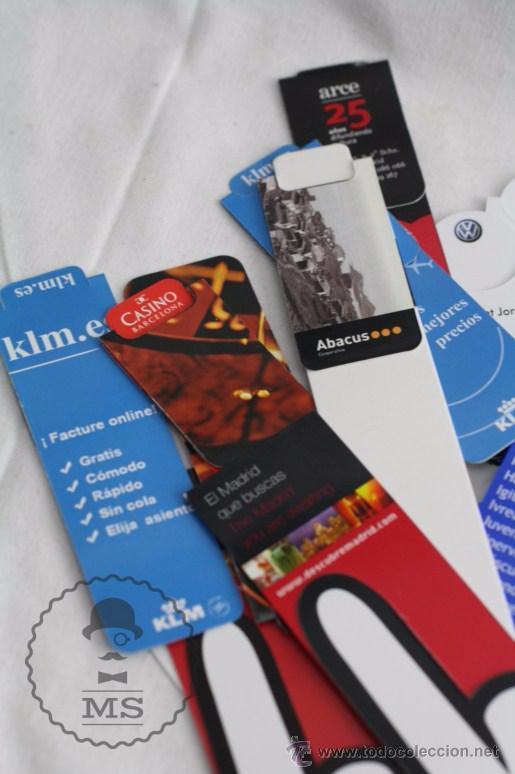 Coleccionismo Marcapáginas: Conjunto de 100 Marcapáginas / Puntos de Libro Imantados / Imanes - Publicidad,Catalunya, Sant Jordi - Foto 8 - 51435006