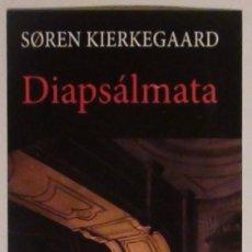Coleccionismo Marcapáginas: MARCAPÁGINAS EDITORIAL:HERMIDA.DIAPSALMATA.. Lote 98802395