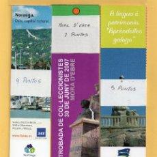 Coleccionismo Marcapáginas: TENTA Y CUATRO BONITOS MARCAPÁGINAS DE SIETE SERIES DIFERENTES . Lote 51820391