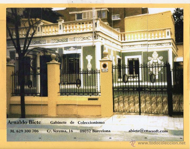 Coleccionismo Marcapáginas: Cinco Bonitos Marcapáginas de Edicion Coleccionistas Arnaldo Biete Barcelona - Foto 1 - 52135191