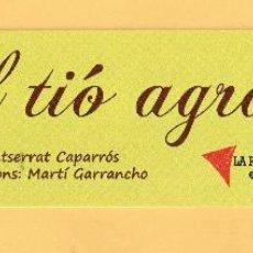 Coleccionismo Marcapáginas: BONITO MARCAPÁGINAS DE EDICION LA PATUMAIRE EL TIO ADRAIT . Lote 52999953