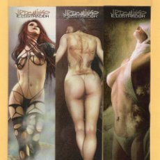 Coleccionismo Marcapáginas: DIEZ Y NUEVE BONITOS MARCAPÁGINAS DE EDICIÓN ESTUDIOS JR DOMINGO . Lote 53326370