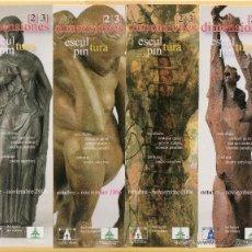 Coleccionismo Marcapáginas: CUATRO BONITO MARCAPÁGINAS DE EDICIÓN MUSEO DE LA CASA DE LA MONEDA DIMENSIONES . Lote 53417306