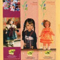 Coleccionismo Marcapáginas: ONCE BONITOS MARCAPÁGINAS DE EDICIÓN A.A.C. GARROTZA COLECCION MUÑECAS . Lote 53837167