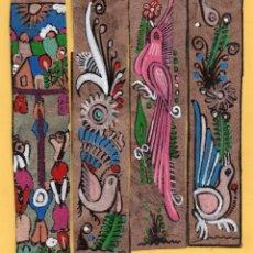 Coleccionismo Marcapáginas: SEIS BONITOS MARCAPAGINAS DE EDICIÓN DE INCO TRAVEL Y TOURS JULIA DE MÉXICO . Lote 54267092