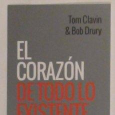 Coleccionismo Marcapáginas: MARCAPÁGINAS EDITORIAL CAPITAN SWING.EL CORAZON DE TODO LO EXISTENTE.. Lote 126259575