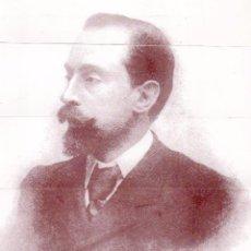 Coleccionismo Marcapáginas: BONITOS MARCAPÁGINAS DE EDICIÓN PUZLE DE FOTO Y DEDICATORIA DE JOAN MARAGALL I CORINA. Lote 55552735