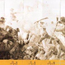 Coleccionismo Marcapáginas: BONITOS MARCAPÁGINAS DE EDICIÓN PUZLE DE CUADRO DE LA GUERRA DE CATALUÑA Y FRANCIA . Lote 55552868