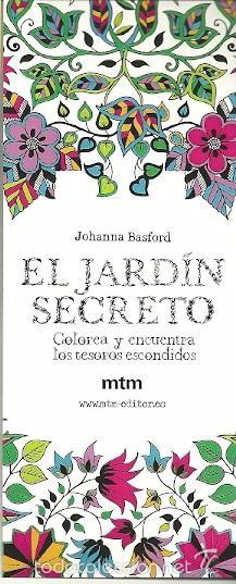 Marcapaginas De Mtm Editor Johanna Basford El Sold Through