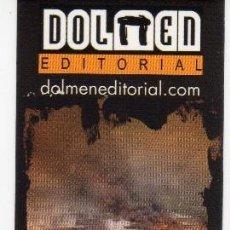 Coleccionismo Marcapáginas: MARCAPÁGINAS - DOLMEN EDITORIAL - SOLOS. Lote 98796006