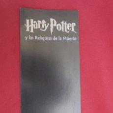 Coleccionismo Marcapáginas: MARCAPAGINAS. HARRY POTTER. SALAMANDRA.. Lote 57414855