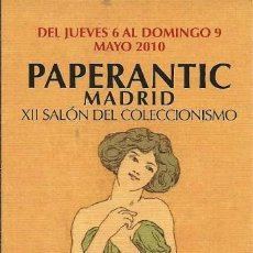 Coleccionismo Marcapáginas: MARCA PAGINAS PAPERANTIC. Lote 57441024