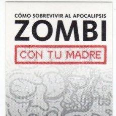 Coleccionismo Marcapáginas: MARCAPÁGINAS CÓMIC - DOLMEN EDITORIAL - CÓMO SOBREVIVIR AL APOCALIPSIS ZOMBI CON TU MADRE. Lote 98796031