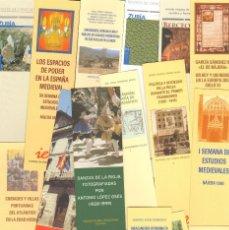 Coleccionismo Marcapáginas: 19 MARCAPAGINAS INSTITUTO DE ESTUDIOS RIOJANOS - IER. Lote 148098526