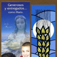 Coleccionismo Marcapáginas: 5 MARCAPAGINAS RELIGIOSOS. Lote 119505066