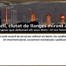 Coleccionismo Marcapáginas: MARCAPAGINAS SABADELL FAV. Lote 57809276