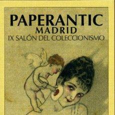 Coleccionismo Marcapáginas: MARCAPÁGINAS – PAPERANTIC MADRID: NOVIEMBRE 2008. Lote 105303118