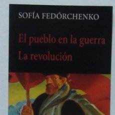 Coleccionismo Marcapáginas: MARCAPÁGINAS EDITORIAL:HERMIDA.EL PUEBLO EN LA GUERRA.LA REVOLUCION.. Lote 98802840