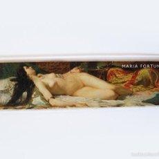Coleccionismo Marcapáginas: PUNTO DE LIBRO ''L'ODALISCA'' - MARIÀ FORTUNY. Lote 58124899