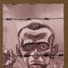 Coleccionismo Marcapáginas: MARCAPÁGINAS EDITORIAL NORMA EL HOMBRE QUE DESCUBRIO EL HOLOCAUSTO. Lote 224787001