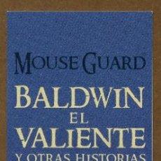 Collectionnisme Marque-pages: MARCAPÁGINAS EDITORIAL NORMA - BALDWIN EL VALIENTE. Lote 276302498