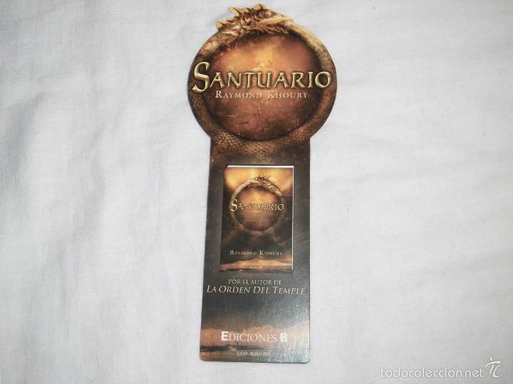 SANTUARIO RAYMOND KHOURY (Coleccionismo - Marcapáginas)