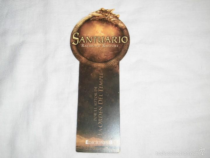 Coleccionismo Marcapáginas: SANTUARIO RAYMOND KHOURY - Foto 2 - 60589835