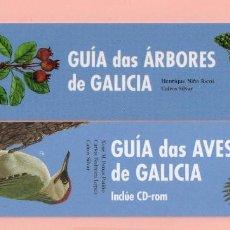 Coleccionismo Marcapáginas: DOS BONITOS MARCAPÁGINAS DE EDICIÓN DE B / BAIA GUIA DE AVES Y ÁRBOLES DE GALICIA. Lote 61548856