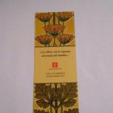 Coleccionismo Marcapáginas: MARCAPAGINAS LOS LIBROS SON LA RIQUEZA ATESORADA DEL MUNDO. TDKP8. Lote 62451992
