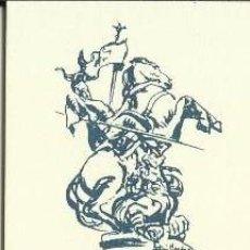 Coleccionismo Marcapáginas: MARCÀPAGINAS SANT JORDI . Lote 72603253