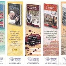 Coleccionismo Marcapáginas: LOTE 10 PUNTO DE LIBRO MARCAPÁGINAS PAGES EDITORS. Lote 70417809