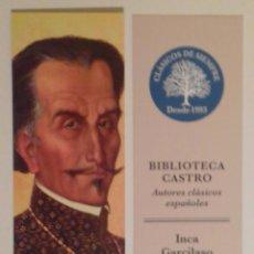 Coleccionismo Marcapáginas: MARCAPÁGINAS EDITORIAL:FUNACION JOSE ANTONIO DE CASTRO.. Lote 95835856