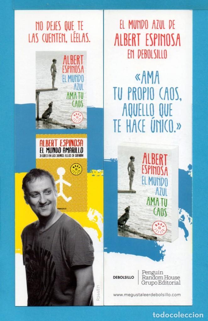 PUNTOS DE LIBROS DE DE BOLSILLO AMA TU PROPIO CAOS AQUELLO QUE TE HACE ÚNICO (Coleccionismo - Marcapáginas)