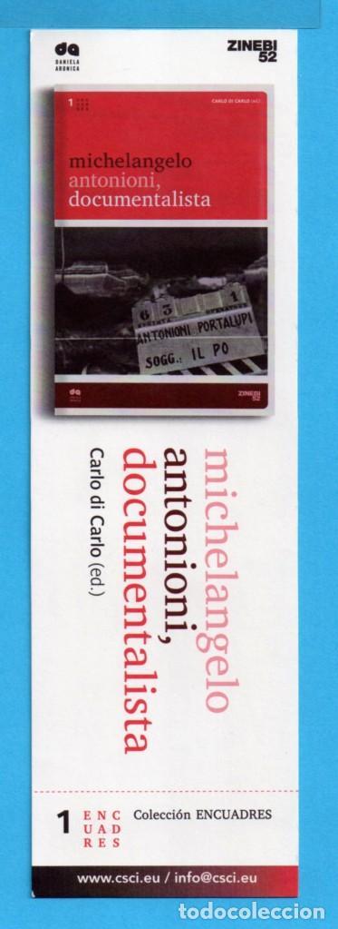 PUNTO DE LIBRO DE ZINEBI 52 (Coleccionismo - Marcapáginas)