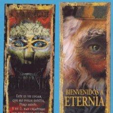 Coleccionismo Marcapáginas: ETERNIA. K.A. APPLEGATE. EDICIONES B. PUNTO DE LIBRO. Lote 78506699