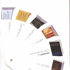 Coleccionismo Marcapáginas: SEIS BONITO MARCAPÁGINAS DE EDICIÓN DE RANDOM HOUSE MONDADORI . Lote 72757303