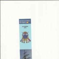 Coleccionismo Marcapáginas: MARCAPAGINAS REVISTA GENERAL DE MARINA. Lote 72922539