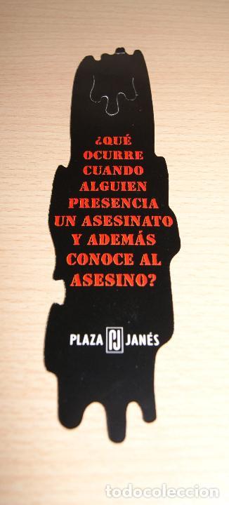 Coleccionismo Marcapáginas: Marcapáginas Plaza Janés Testigo en la sombra - Foto 2 - 73452375