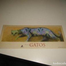Coleccionismo Marcapáginas: CAJA-6 MARCAPAGINAS HISTORIAS DE GATOS CARLOS LAINEZ BB. Lote 74346923
