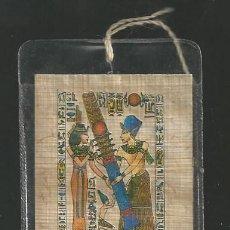 Coleccionismo Marcapáginas: MARCAPAGINAS HIEROGLYPHIC ALPHABET - EGIPTO. Lote 75553939