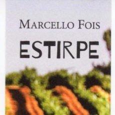 Coleccionismo Marcapáginas: MARCAPÁGINAS - HOJA DE LATA - ESTIRPE. Lote 133906727