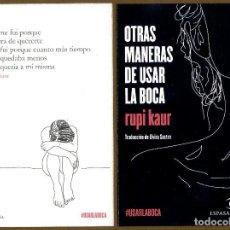 Coleccionismo Marcapáginas: MARCAPAGINAS POSTAL ESPASA OTRA MANERA DE USAR LA BOCA. Lote 227244440