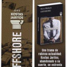 MARCAPÁGINAS - TUSQUETS EDITORES - OFFSHORE