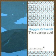Coleccionismo Marcapáginas: MARCAPÁGINAS EDITORIAL - LIBROS DEL ASTEROIDE TIENE QUE SER AQUI. Lote 155980026