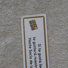 Coleccionismo Marcapáginas: MARCAPÁGINAS FNAC. Lote 84522612
