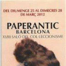 Coleccionismo Marcapáginas: MARCAPÁGINAS PAPERANTIC BARCELONA EN CATALÁN . Lote 86521860