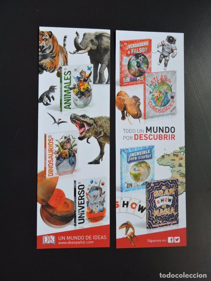 MARCAPÁGINAS - DK ESPAÑOL - ANIMALES - DINOSAURIOS - UNIVERSO (Coleccionismo - Marcapáginas)