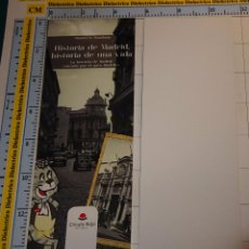 Coleccionismo Marcapáginas: MARCAPÁGINAS DE LITERATURA. HISTORIA DE MADRID. SEAT 600. Lote 88934436
